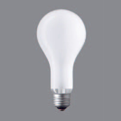 一般照明用電球 シリカ電球 75ミリ径 200形 E26