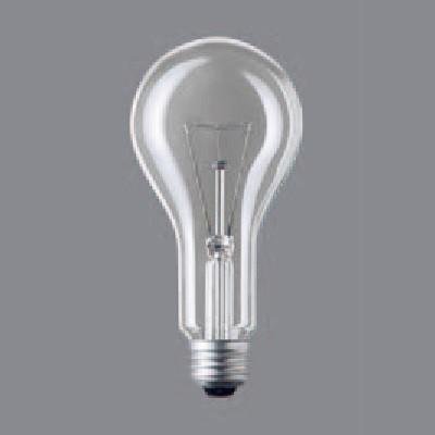 一般照明用電球 クリア電球 75ミリ径 200形 E26