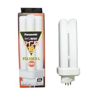 ツイン蛍光灯 ツイン2(4本束状ブリッジ) 18形 電球色 GX10q-3