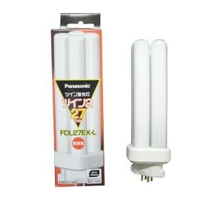 ツイン蛍光灯 ツイン2(4本束状ブリッジ) 27形 電球色 GX10q-4