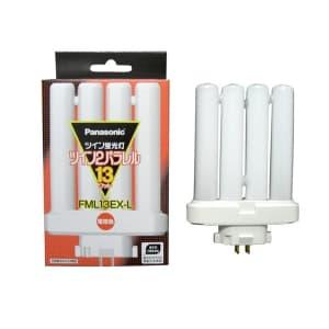 ツイン蛍光灯 ツイン2パラレル(4本平面ブリッジ) 13形 電球色 GX10q-2