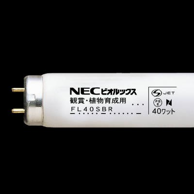 蛍光ランプ ビオルックス 直管スタータ形 熱帯魚観賞植物育成用 40形 G13