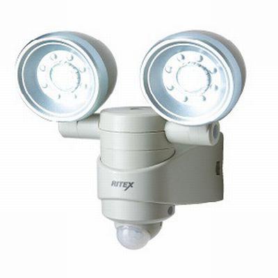 乾電池式 1W×2 LED センサーライト(LED-120)