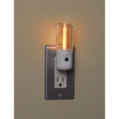 センサーナイトライト アンバー色LED×1灯 2個パック