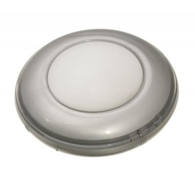 LEDミニプッシュライト シルバー