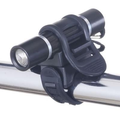 自転車用LEDライト(アルミ製) 日亜製白色LED×1灯