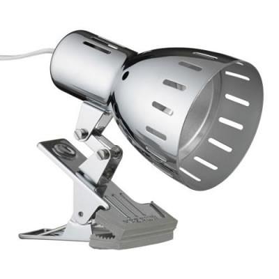 電球色LEDクリップライトクローム