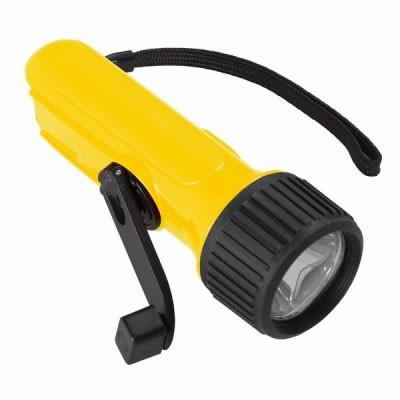 手動充電式LEDライト