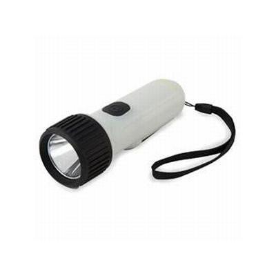 手回し充電式 暗闇でも見つけやすいLEDライト