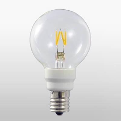 LED電球 フィラメント電球 グローブ形(外径:50mm) Let 調光対応 100V用 36ルーメンタイプ 1.8W E12