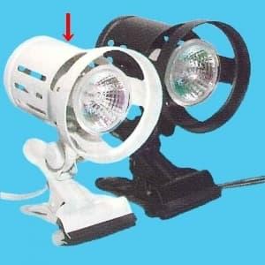 ハロゲンクリップライト スタンダード ホワイト (使用電球:ダイクロハロゲン 60W 昼白色 高色温度タイプ)