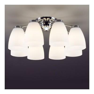 LEDシャンデリア 〜14畳 E26 LED電球9.1W×8灯 電球色