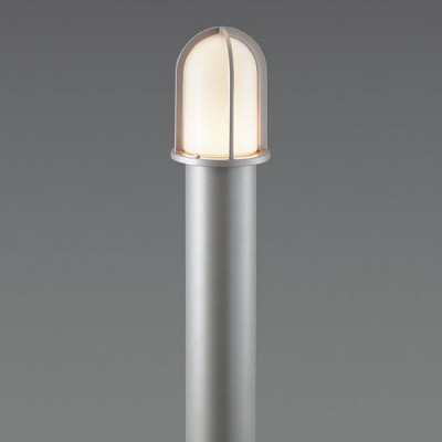 LEDガーデンライト ダークシルバー 白熱灯40W相当 電球色