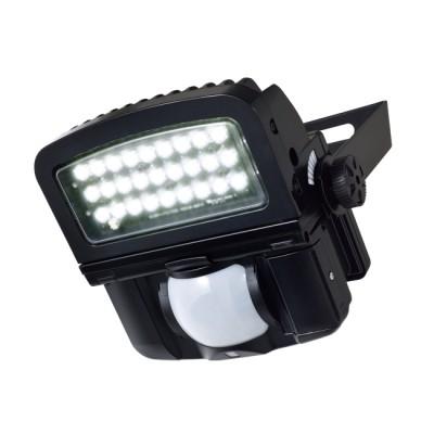 LEDセンサーライト ON/OFFタイプ LED白色(クールホワイト)