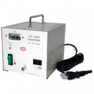 SDX-Uシリーズ ダウントランス 110/120V対応 定格容量:1500W