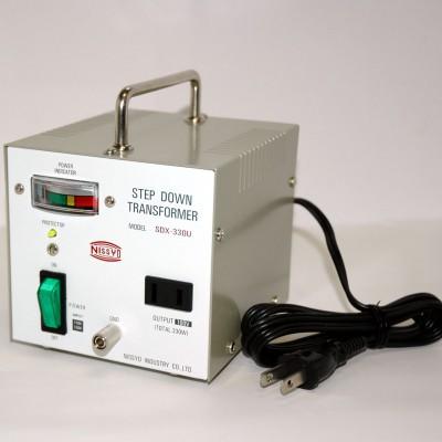 SDX-Uシリーズ ダウントランス 110/120V対応 定格容量:330W