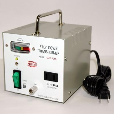 SDX-Uシリーズ ダウントランス 110/120V対応 定格容量:600W