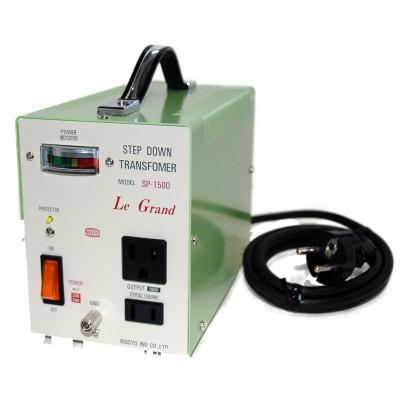 SPシリーズ ダウントランス 220/240V対応 定格容量:1500W