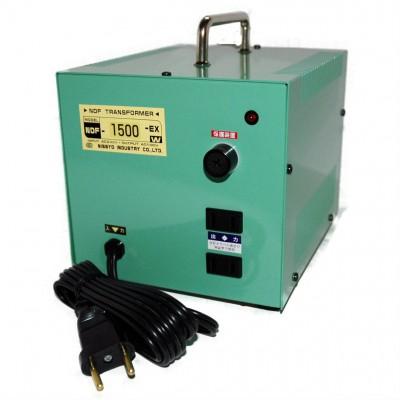 NDF-Eシリーズ ダウントランス AC220V対応 定格容量:1500W
