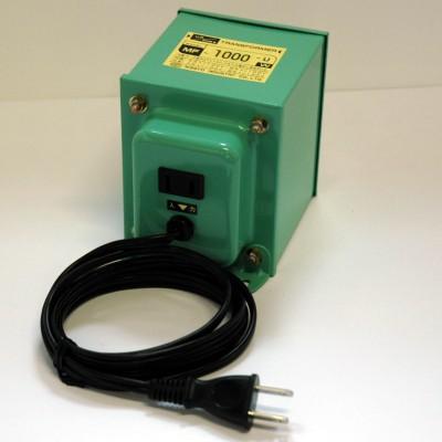 MF-Uシリーズ 変圧トランス 入出力電圧AC120⇔AC100V 定格容量:1000W