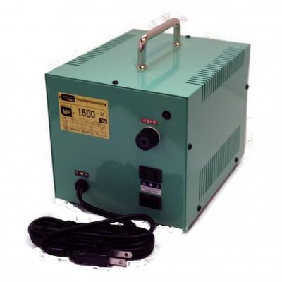 MF-Uシリーズ 変圧トランス 入出力電圧AC120⇔AC100V 定格容量:1500W