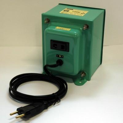 MF-Eシリーズ 変圧トランス 入出力電圧AC220⇔AC100V 定格容量:1000W