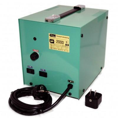 MF-Eシリーズ 変圧トランス 入出力電圧AC220⇔AC100V 定格容量:2000W