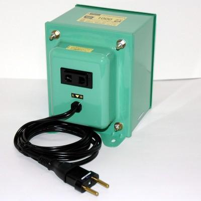 MF-EXシリーズ 変圧トランス 入出力電圧AC240⇔AC100V 定格容量:1000W