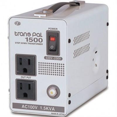 海外用トランス 丸ピンC2 AC220V〜230V 1.5KVA