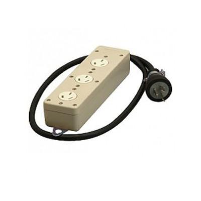 3P タップ 3個口 VCTコード1m 20A 250V