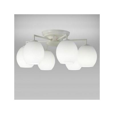LEDシャンデリア 天井直付 〜6畳 小形電球50形×6灯相当 昼白色