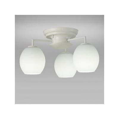 LEDシャンデリア 天井直付 小形電球50形×3灯相当 昼白色