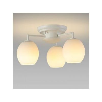 LEDシャンデリア 天井直付 小形電球40形×3灯相当 電球色