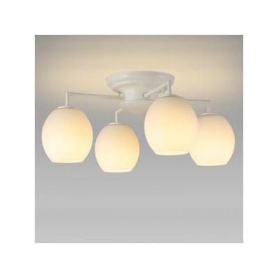 LEDシャンデリア 天井直付 小形電球40形×4灯相当 電球色