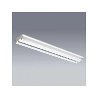 蛍光灯ベースライト 逆富士タイプ 簡易連結具付 マルチランプ形×2灯(蛍光灯別売)