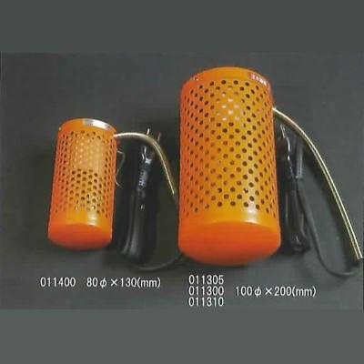 ミニペットヒーター 20W 1.5mコード・プラグ付 オレンジ