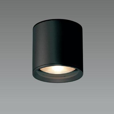 LEDシーリングライト 軒下用 ブラック 防雨形 FHT24W相当 電球色 4968478540601