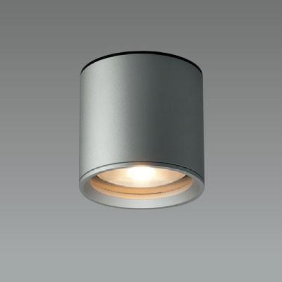 LEDシーリングライト 軒下用 ダークシルバー 防雨形 FHT24W相当 電球色 4968478540618