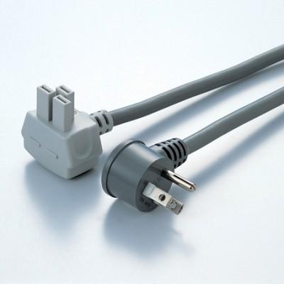MKコンセント用電源コード 3000mm 定格:125V/15A