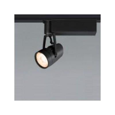 LED一体型スポットライト(ダクトレール用) ブラック JR12V50W相当 配光角:32° 電球色