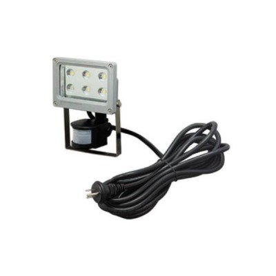 LED投光器 センサタイプ 屋外軒下用 6W
