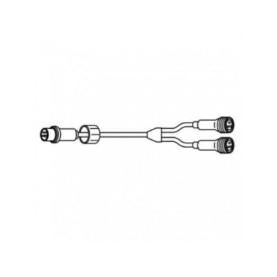 LEDピカライン (ローボルト24V) Y型分岐コード