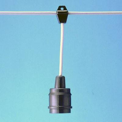 ミニスズラン灯 10灯 一体成型防水ソケット E26 長さ:20m