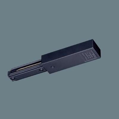 ダクトレール ショップライン(100V用配線ダクトシステム) フィードインキャップ ブラック