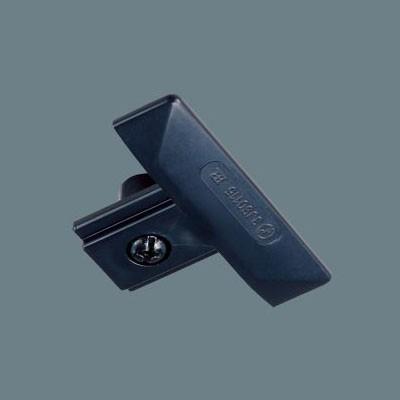 ダクトレール ショップライン(100V用配線ダクトシステム) 埋込用エンドキャップ ブラック