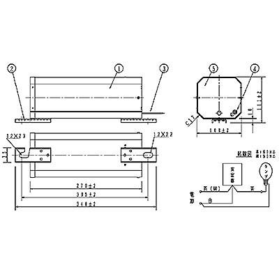 ハイゴールド(効率本位形) 水銀灯安定器点灯形(始動器内蔵形) 60Hz用 940形 一般型 高効率 200V