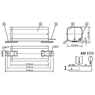 ハイゴールド(効率本位形) 水銀灯安定器点灯形(始動器内蔵形) 50Hz用 940形 一般型 高効率 200V