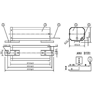 ハイゴールド(効率本位形) 水銀灯安定器点灯形(始動器内蔵形) 50Hz用 180形 一般型 高効率 100V