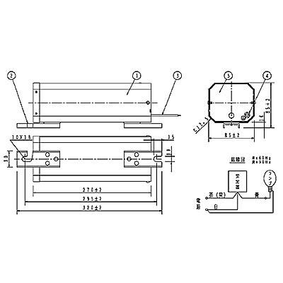 ハイゴールド(効率本位形) 水銀灯安定器点灯形(始動器内蔵形) 60Hz用 220形 一般型 高効率 100V