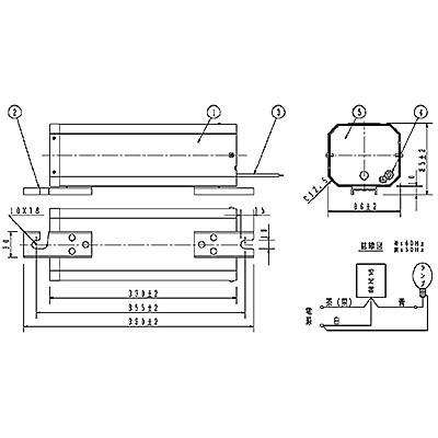 ハイゴールド(効率本位形) 水銀灯安定器点灯形(始動器内蔵形) 50Hz用 270形 一般型 高効率 100V